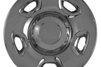 "CCI® - 17"" 5 Flat Spokes Triple Chrome Plated Impostor Wheel Skins"