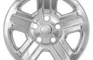 "CCI® - 16"" 5 Indented Spokes Triple Chrome Plated Impostor Wheel Skins"