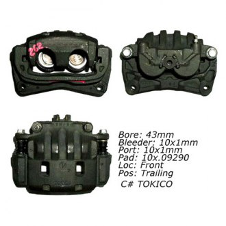 Centric® - Posi Quiet™ Front Driver Side Loaded Brake Caliper