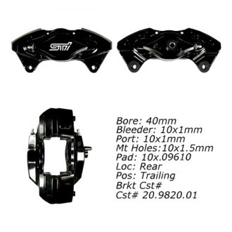 Centric® - Posi Quiet™ Rear Passenger Side Loaded Brake Caliper