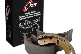 Centric® - C-Tek™ Rear Brake Shoes