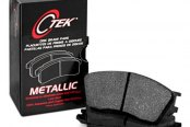 Image may not reflect your exact vehicle! Centric® - C-Tek™ Semi-Metallic Front Brake Pads