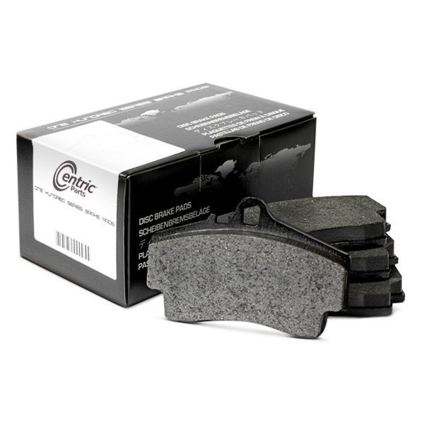 Image may not reflect your exact vehicle! Centric® - Formula 100 Series™ OEM Semi-Metallic Front Disc Brake Pads