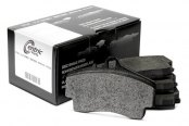 Image may not reflect your exact vehicle! Centric® - Formula 100 Series OEM Front Brake Pads