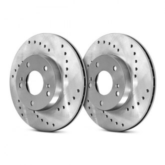 Centric® - C-Tek Standard Drilled Brake Rotor