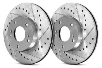 Centric® - C-Tek™ Sport Drilled and Slotted Brake Rotor