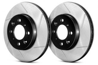 Centric® - Premium High Carbon Slotted Brake Rotor
