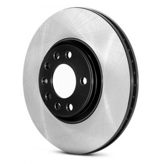 Centric® - Front Premium Plain High Carbon Alloy Brake Rotor