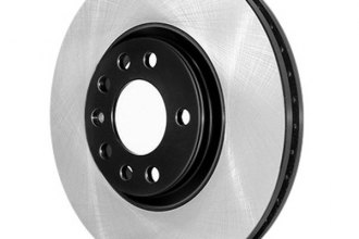 Centric® 125.39042 - Premium High Carbon Alloy Plain Front Brake Rotor