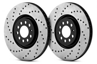 Centric® - Premium High Carbon Drilled Brake Rotor