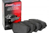 Image may not reflect your exact vehicle! Centric® - Posi Quiet™ Extended Wear Semi-Metallic Front Brake Pads