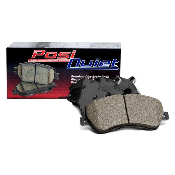 Disc Brake Pad Set Rear Centric 105.15470