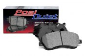 Image may not reflect your exact vehicle! Centric® - Posi Quiet™ Premium Semi-Metallic Front Brake Pads