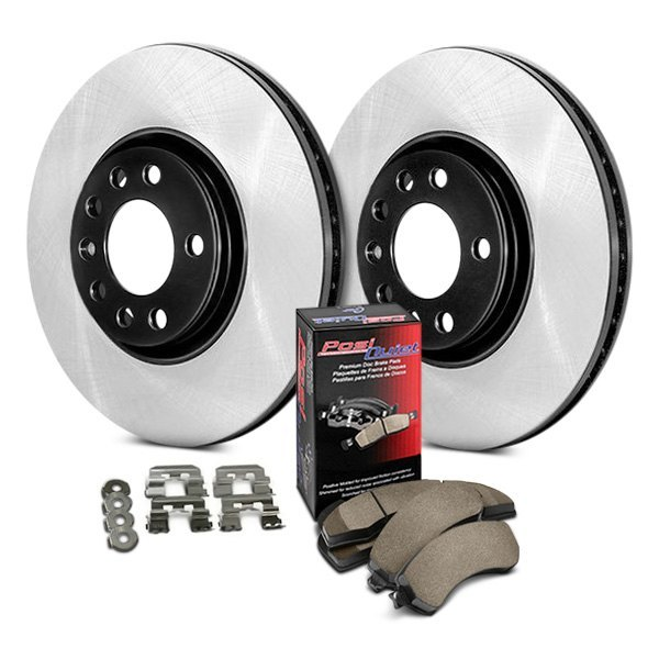 Centric® - Preferred Plain Rear Brake Kit