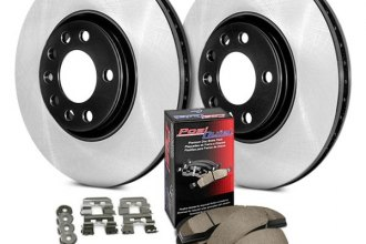 Centric® - Preferred Plain Front and Rear Brake Kit