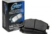 Image may not reflect your exact vehicle! Centric® - Premium Semi-Metallic Front Brake Pads