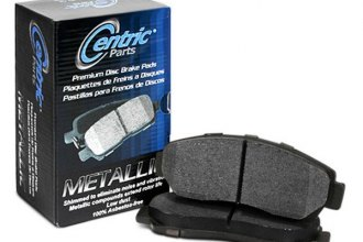 Centric® - Premium Metallic Rear Brake Pads