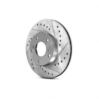 Centric® - C-Tek™ Sport Rear Drilled and Slotted Rotor