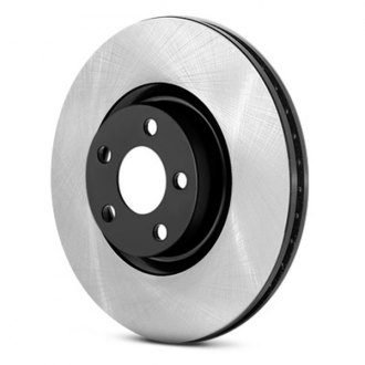 Centric® - Premium Plain Rear Brake Rotor