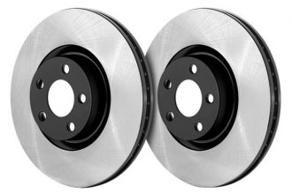 Centric® - Premium Power Alloy Rear Brake Rotor