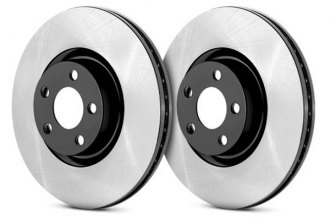 Centric® - Premium High Carbon Rear Brake Rotor