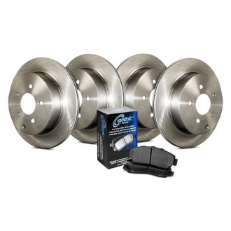 Centric® - Select Plain Front and Rear Brake Kit