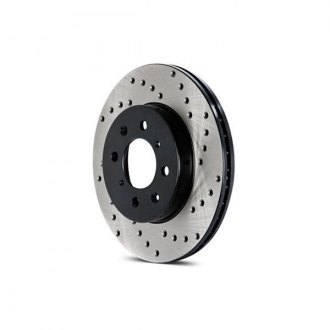 Centric® - SportStop Drilled Vented 1-Piece Rear Brake Rotor