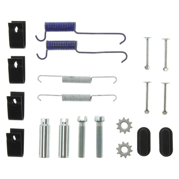 Complete Rear Parking Brake Hardware Kit for Jeep Liberty 2003-2005