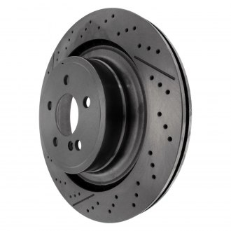 Centric® - C-Tek™ Standard Drilled and Slotted Vented 1-Piece Rear Brake Rotor