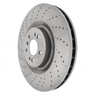 Centric® - C-Tek™ Drilled & Slotted Rotor