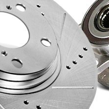 Centric® - Sport Drilled Slotted Brake Rotor