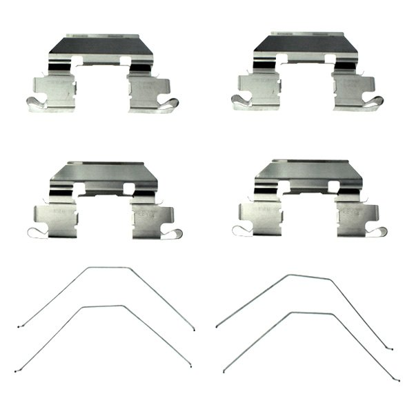 Centric Front Disc Brake Hardware Kit - Picnic table hardware kit