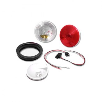 "Bargman® - 4"" Sealed Stop / Tail / Turn Light with Grommet and Standard Pigtail"