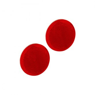Bargman® - 2-3/16 Adhesive Mount Red Reflector with Grommet and 6-1/2 Pigtail