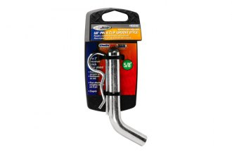 TOW READY® - 5/8 Grooved Style Hitch Pin and Clip for 2 Receivers
