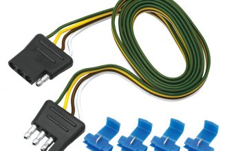 Tow Ready® - 4-Flat Plug Loop with Wire Taps (5' Length)