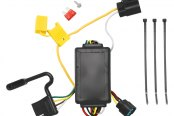 Tow Ready® - 4-Flat ModuLite™ Replacement OEM Tow Package Wiring Harness with Circuit Protected ModuLite™ Module