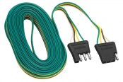 Tow Ready® - 4-Flat Plug Loop with Wire Taps (24' Length)