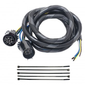 Tow Ready® - 5th Wheel Adapter Harness with Pigtails for Choice of Hardwiring 6 or 7-Way Connector