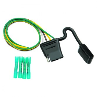 Tow Ready® - Car End 4-Flat Wiring Kit