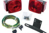 "Wesbar® - 80"" Under Submersible Tail Light Kit"