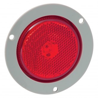 "Bargman® - 2.5"" Round LED Clearance Light with Mounting Flange"