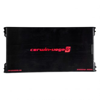 Cerwin-Vega® - HED Mobile Series Class D 2000W Amplifier