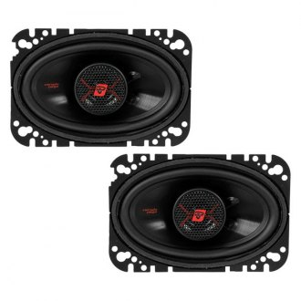 "Cerwin-Vega® - 4"" x 6"" 2-Way HED Series 200W Coaxial Speakers"