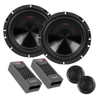 "Cerwin-Vega® - 6-1/2"" 2-Way HED Mobile Series 360W Component Speakers"