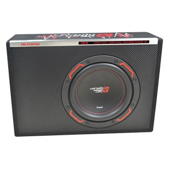 "Cerwin-Vega® - 10"" HED Series Single Slim Vented Powered 1200W Subwoofer Enclosure"