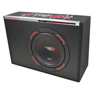 "Cerwin-Vega® - 12"" HED Series Single Slim Vented Powered 1500W Subwoofer Enclosure"