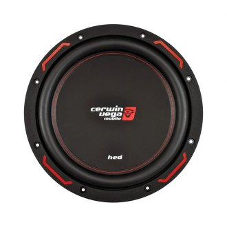 "Cerwin-Vega® - 10"" HED Series 1200W 4 Ohm DVC Subwoofer"
