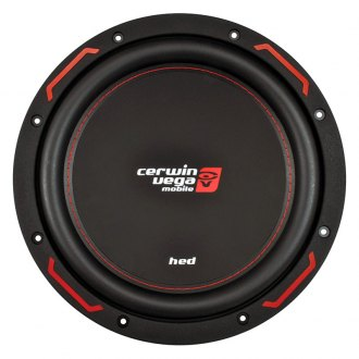 "Cerwin-Vega® - 12"" HED Series 1200W 4 Ohm DVC Subwoofer"