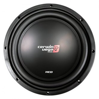 "Cerwin-Vega® - 10"" XED Series 1000W 4 Ohm SVC Subwoofer"
